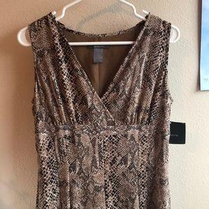 Liz Claiborne Snake Skin Dress